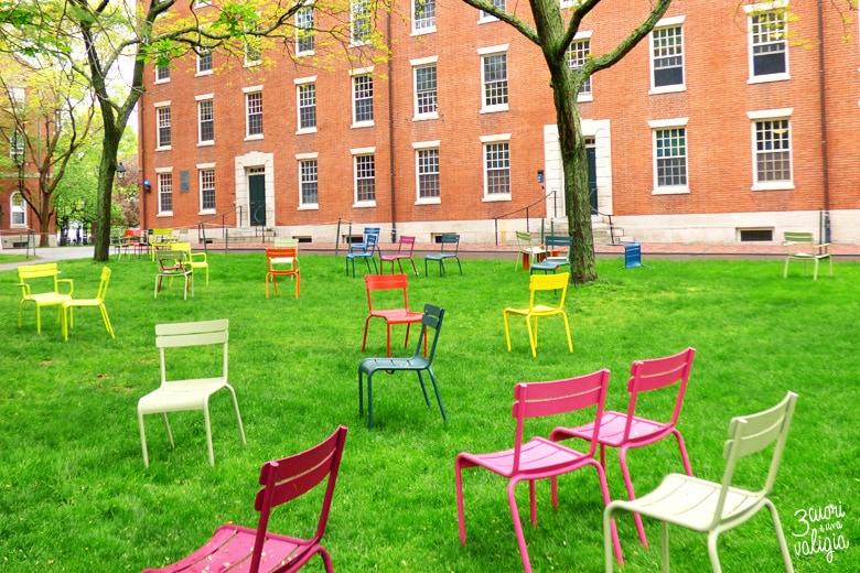 Boston con bambini - Harvard University