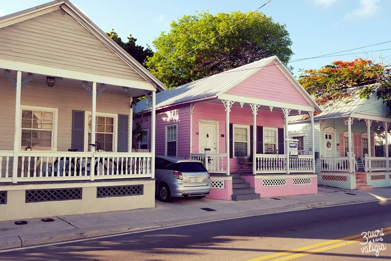 tipica architettura di Key West