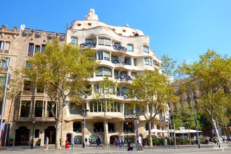 Barcellona con i bambini Casa Milà La Pedrera