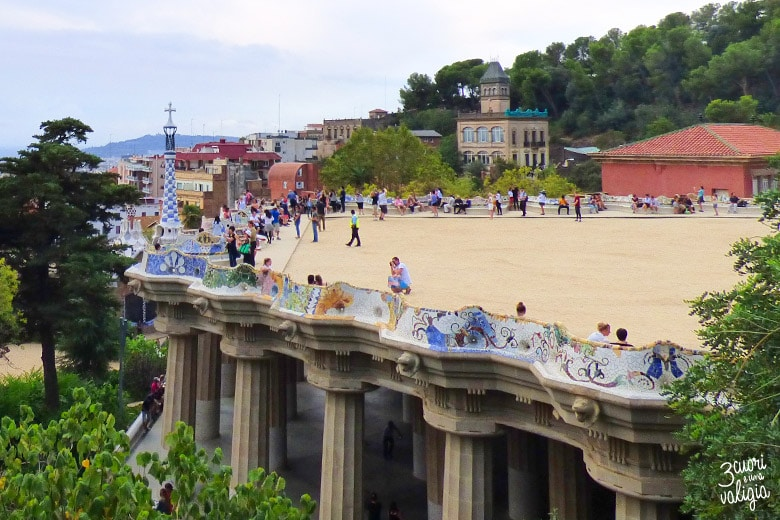 Barcellona con i bambini Parc Guell