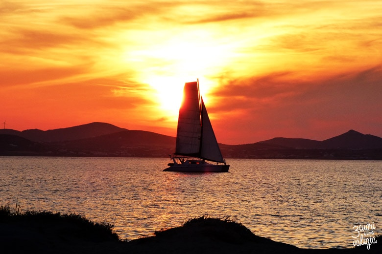 tramonto di Agia Anna