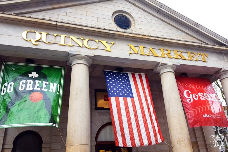 Boston con bambini - Quincy Market