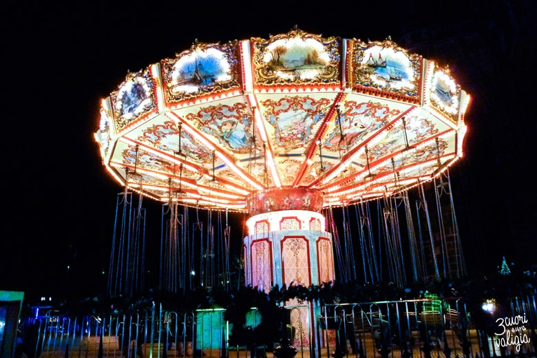 The Flying Carousel - Edimburgo-Edimburgo con i bambini