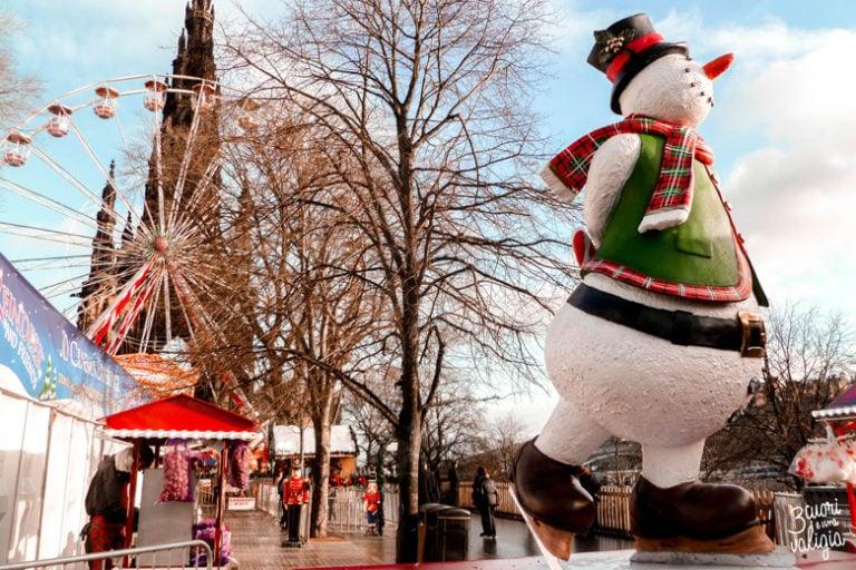 Edimburgo con i bambini: le emozioni del Natale scozzese
