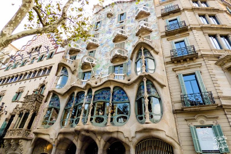 Barcellona Casa Batlló Gaudí
