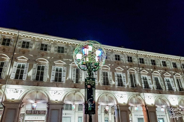 Luci d'artista in Piazza San Carlo