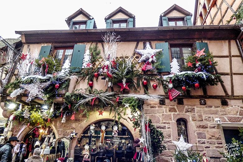 addobbi natalizi a Colmar