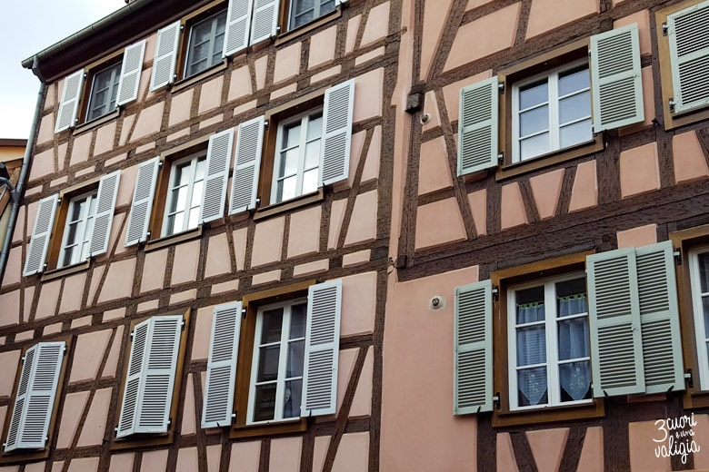 Colmar, Maison à colombages