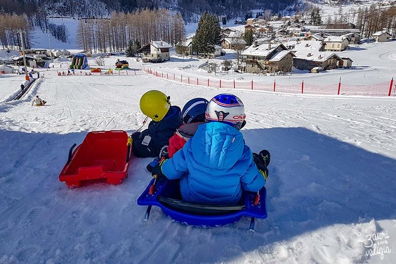 Pista di Bob a Ollomont - Aosta