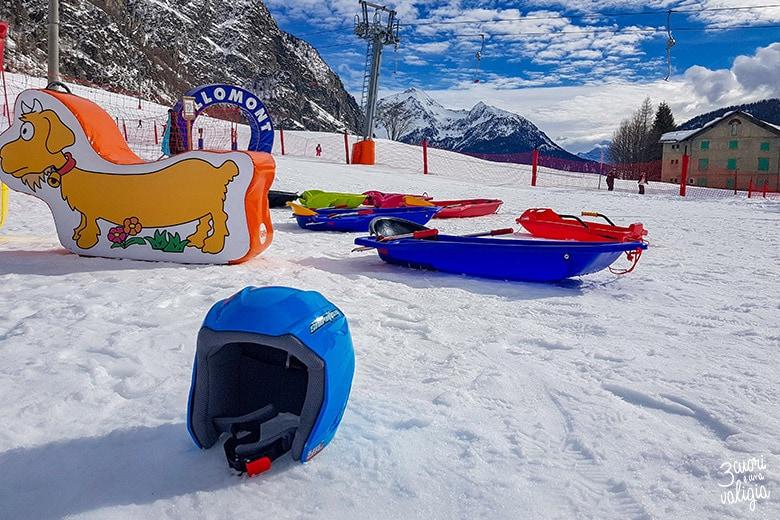 Snowpark di Ollomont - Aosta