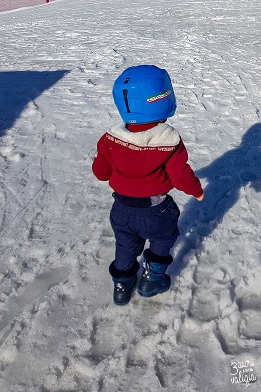 Snowpark per bambini a Ollomont - Aosta