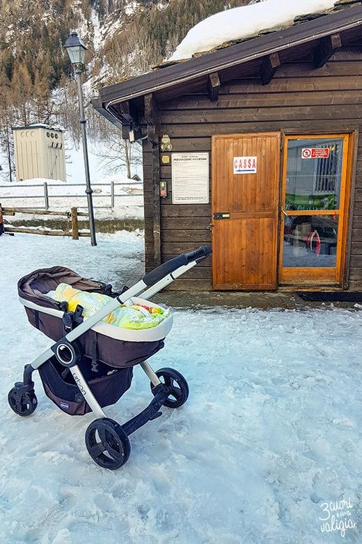 Baby snowpark di Ollomont - Aosta