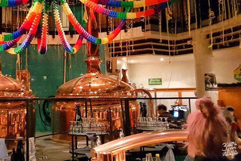 Friburgo interno di una birreria