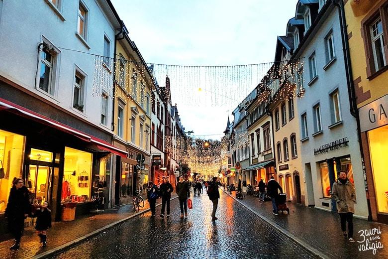 Luci di Natale a Friburgo