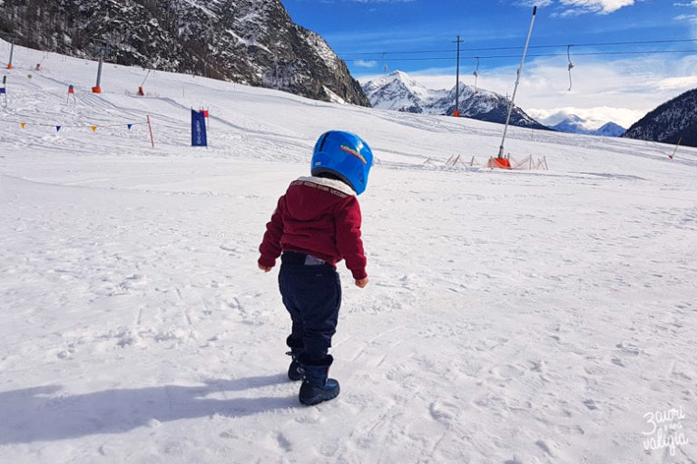 Valle d'Aosta con bambini: Baby Snow Park di Ollomont in Valpelline