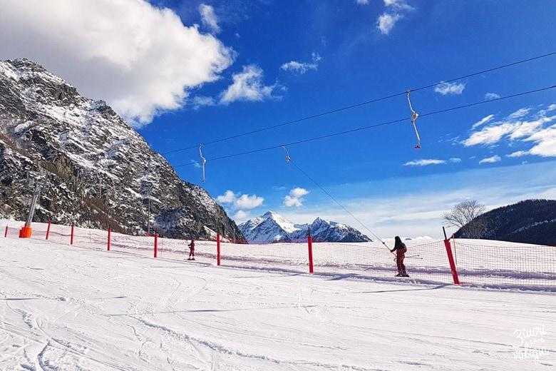 Baby snow park di Ollomont