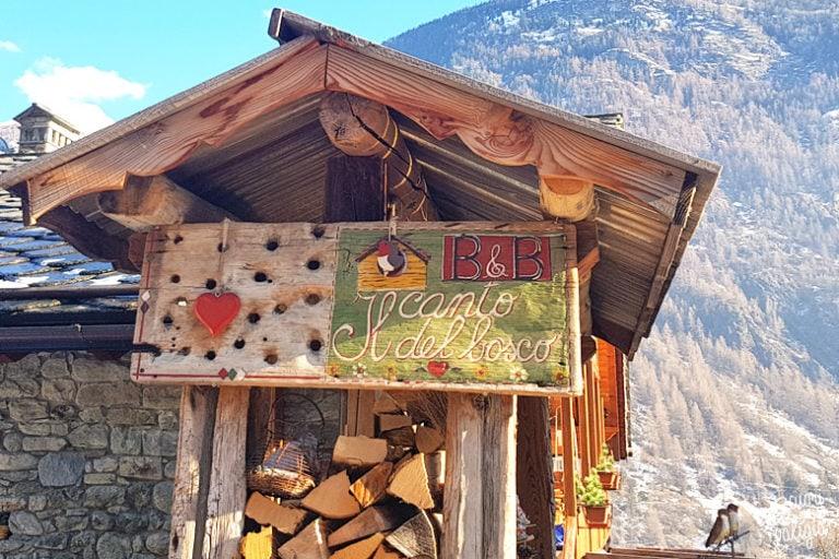 B&B il Canto del Bosco: un soggiorno family friendly a Valpelline