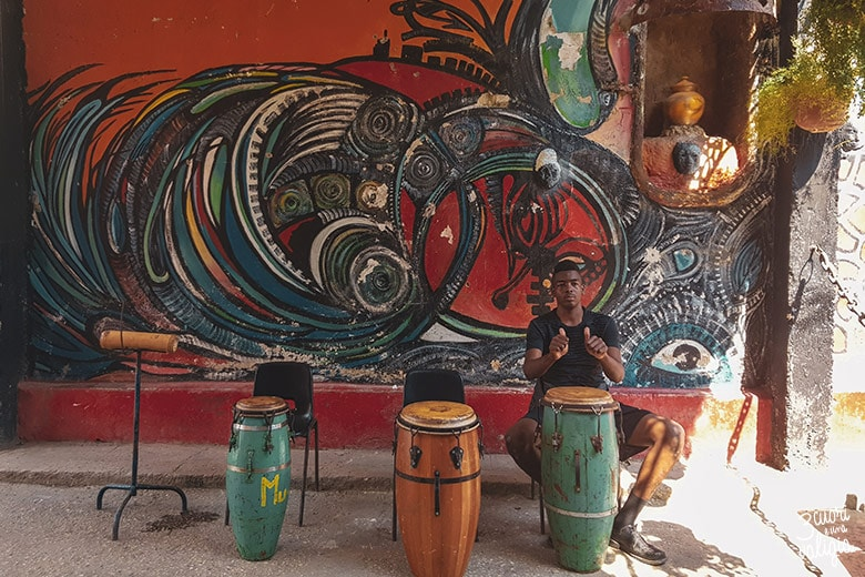 Cuba L'Avana, Callejon de Hamel