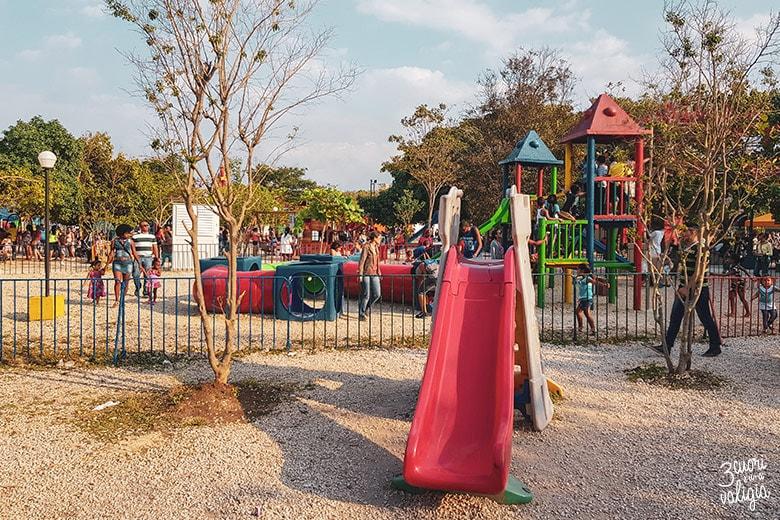 L'Avana con bambini, parco giochi bimbi