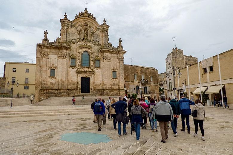 Matera chiesa di San Francesco d'Assisi tour guidato