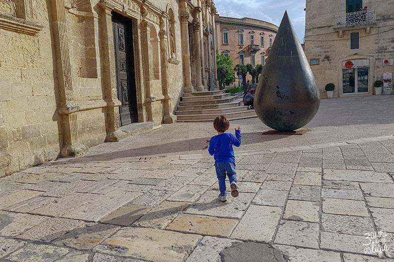 Sassi di Matera piazzetta Pascoli