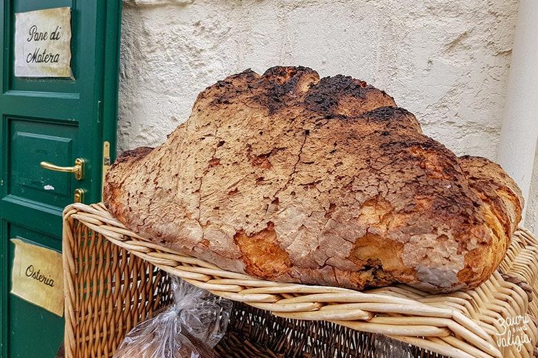 Sassi di Matera pane tipico