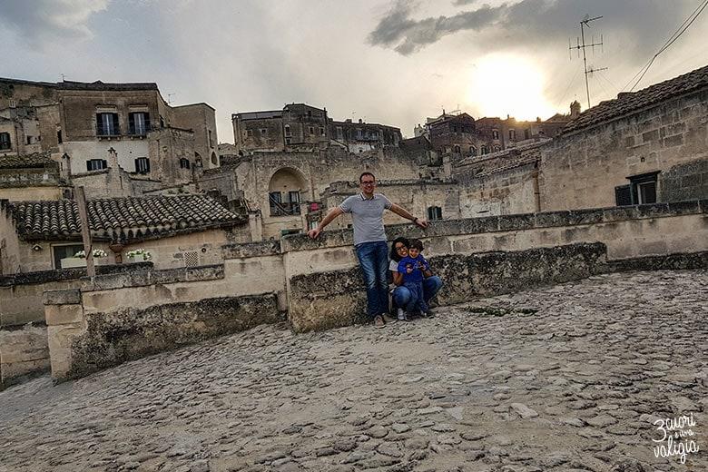 Sassi di Matera the family
