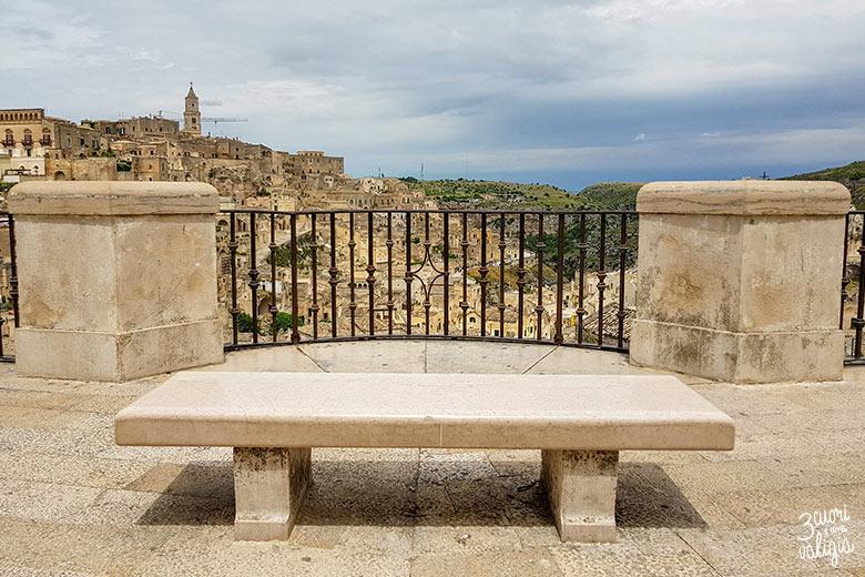 Sassi di Matera vista sasso Barisano