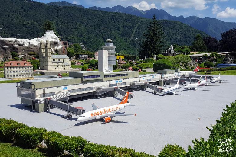 Swissminiatur Melide - aeroporto di Zurigo in miniatura