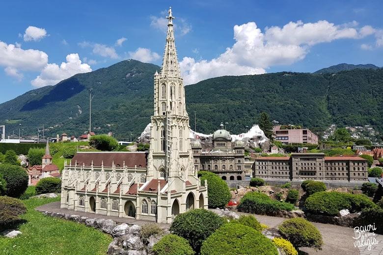 Swissminiatur Melide - cattedrale di Berna