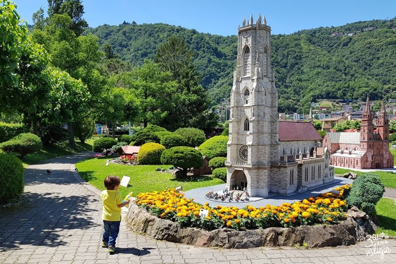 Swissminiatur Melide - cattedrale di St Nicolas di Friborgo