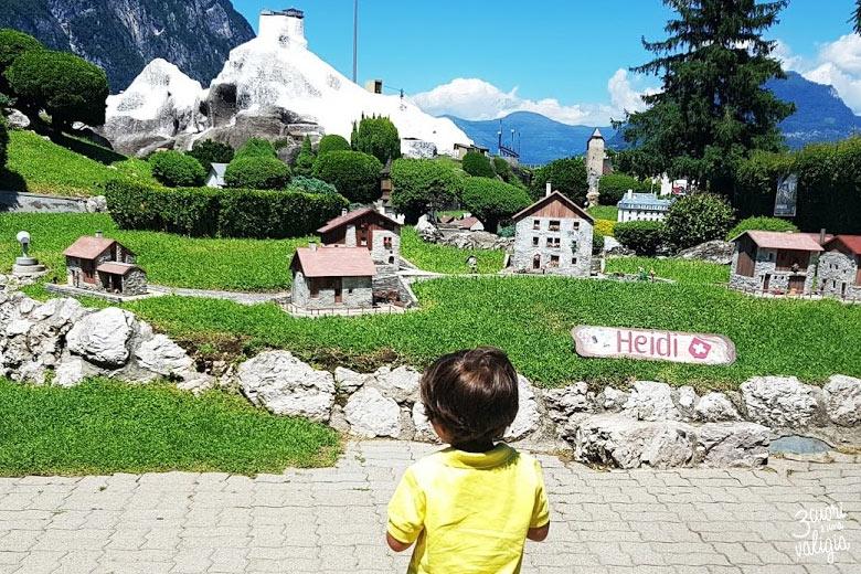 Swissminiatur Melide - casa di Heidi