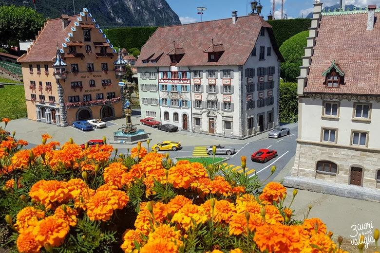 Swissminiatur Melide - Piazza Kolin di Zugo