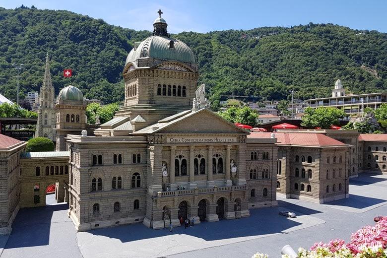 Swissminiatur Melide - Palazzo Federale