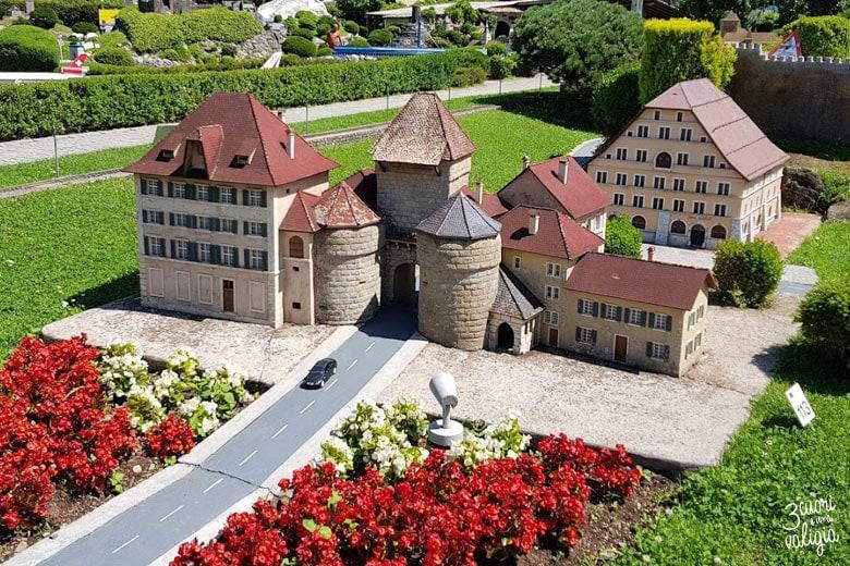 Swissminiatur Melide - porta di Basilea