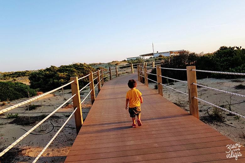 Ugento - Vivosa Apulia resort accesso alla spiaggia