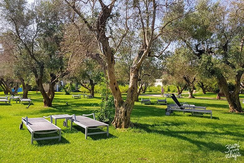 Ugento - Vivosa Apulia resort sdraio area verde