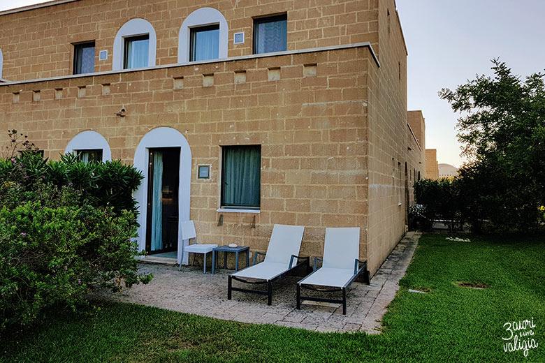 Ugento - Vivosa Apulia resort stanza con giardino