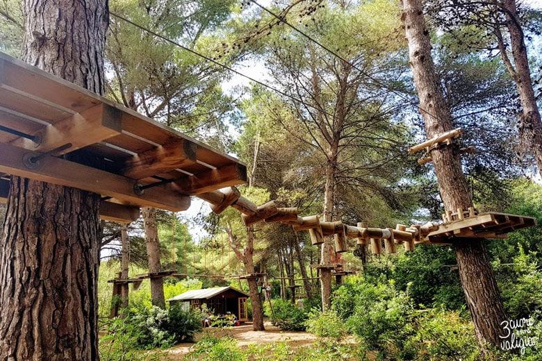 Ugento - Vivosa Apulia resort parco avventura passerella