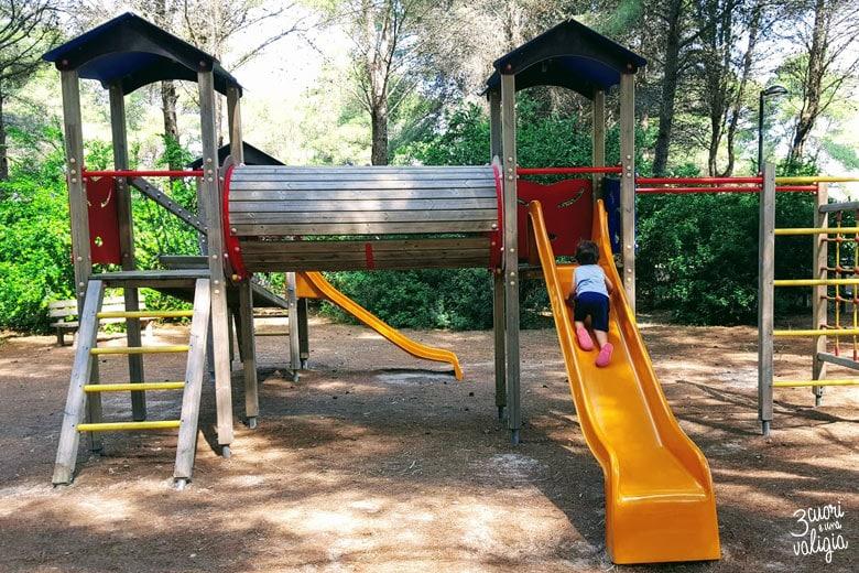 Ugento - Vivosa Apulia resort parco giochi per bimbi scivolo