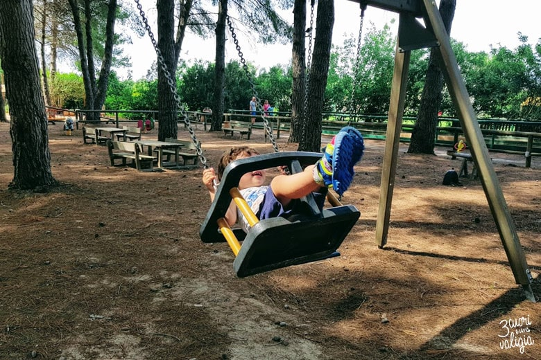Ugento - Vivosa Apulia resort parco giochi altalene