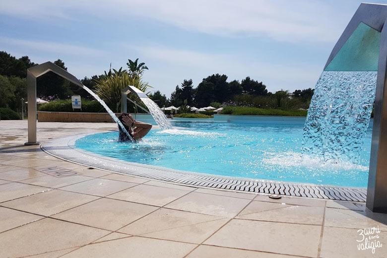 Ugento - Vivosa Apulia resort piscina calda con cascate