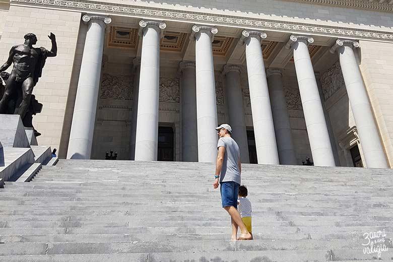 Cuba - L'Avana Capitolio scalinata