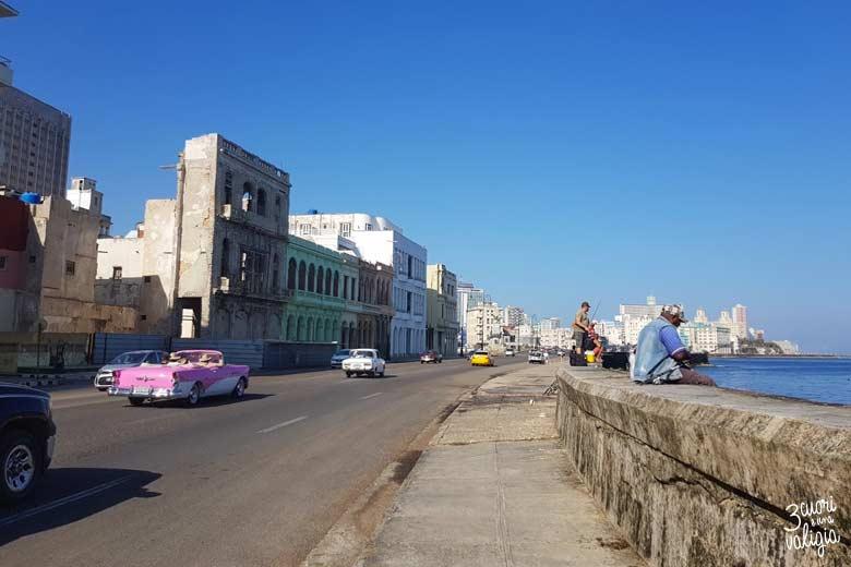 Cuba - L'Avana, Malecon