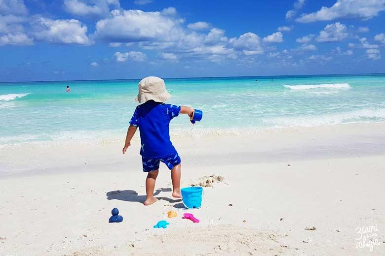 Cuba - Cayo Santa Maria, giochi in spiaggia