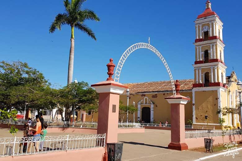 Cuba - Remedios, chiesa di San Juan Bautista