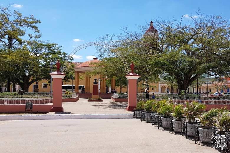 Cuba - Remedios, Plaza Marti