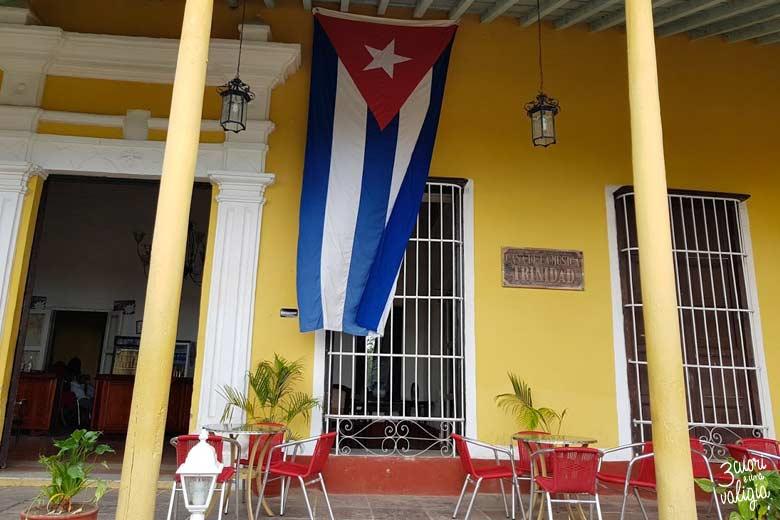 Cuba - Trinidad casa della musica