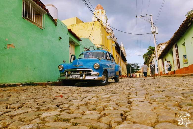 Cuba - Trinidad, strade ciottolate