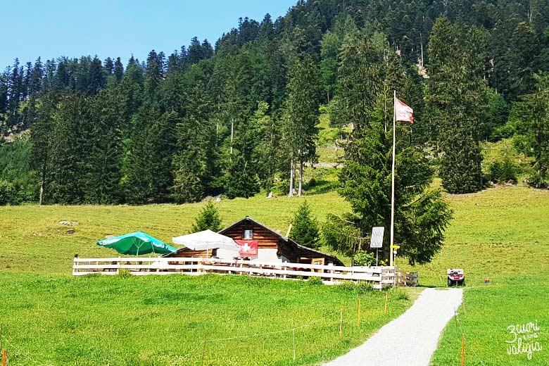 Svizzera - alpe dell'Ochsenberg nonno Heidi